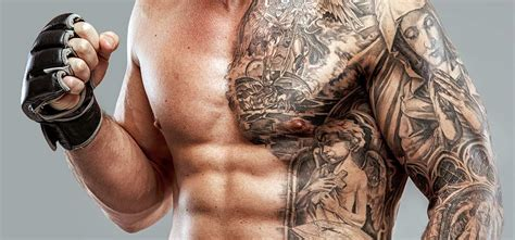 abdomen tattoos for men top 10 stomach designs
