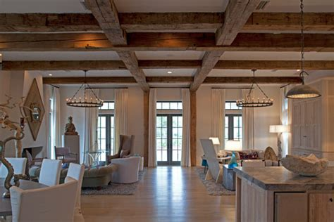 can this wood beam detail added to an 8 foot ceiling
