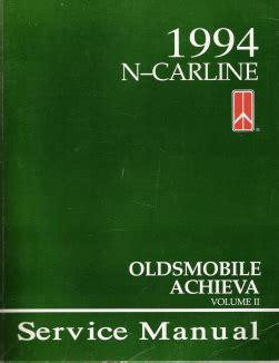 how to download repair manuals 1996 oldsmobile achieva auto manual 1994 oldsmobile achieva factory service manual 2 volume set