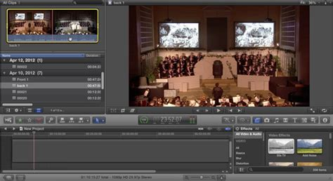 tutorial multicam final cut pro x tutorial creating and editing multicam sequences in final