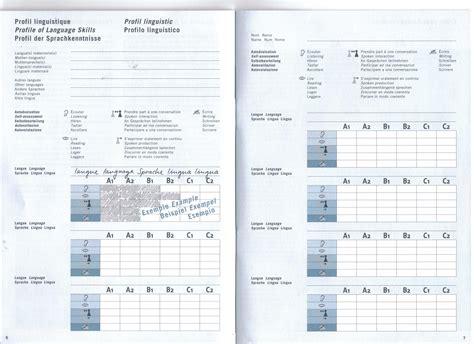 portfolios europeens des langues structure pel iii f schulverlag plus