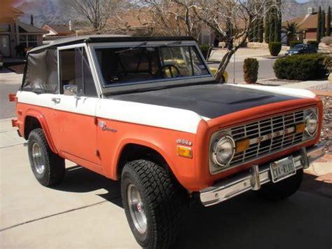 baja bronco for sale purchase used 1971 baja bronco stroppe in el paso