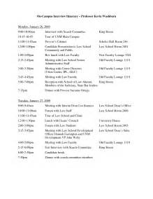 itinerary template word best photos of itinerary template sle