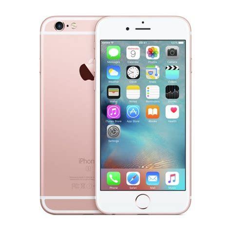 apple iphone  gb rose gold vodafone grade