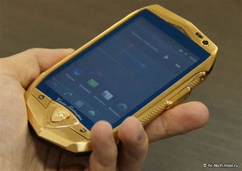 lamborghini unveils luxury android phone and tablet