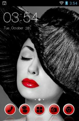 red hot tv apk red lips android theme for clauncher androidlooks