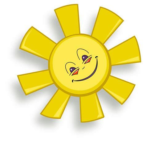 clipart happy sun