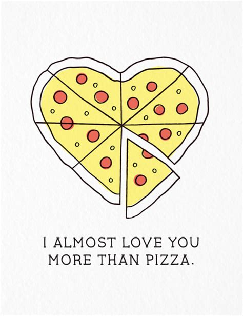 pizza valentines card template 12 days of cards