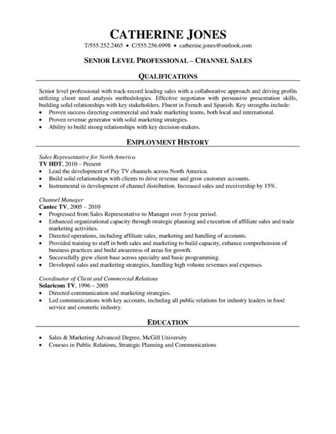 trending sales manager resume sample canada hotel sales resume