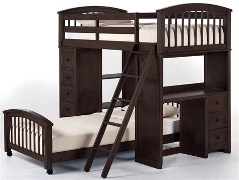 Palliser Bunk Bed With Desk Ne School House 5080nl Student Loft W Desk And Chest End Dunk Bright Furniture Loft Beds