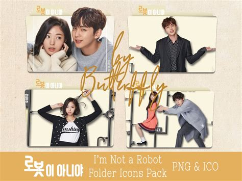 I M Not A k drama i m not a robot folder icons pack by butterffly on