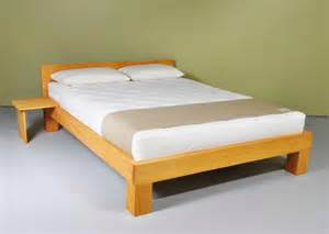 Simple Wood Bed Frame Simple Wood Bed Frame Ideas Homesfeed