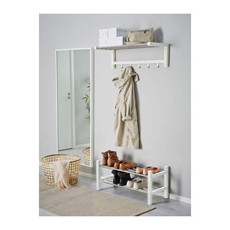 ikea shoe rack tjusig shoe rack white 79 cm ikea