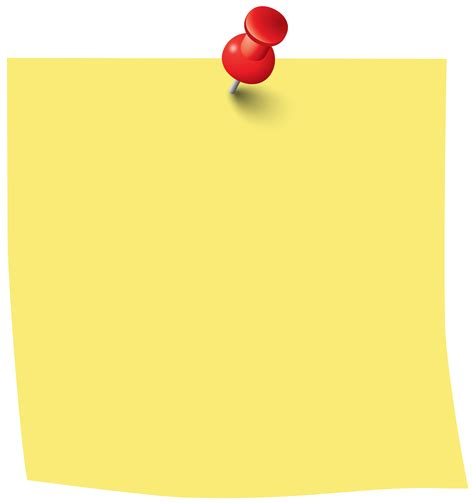 note clip sticky note png clip image clipart