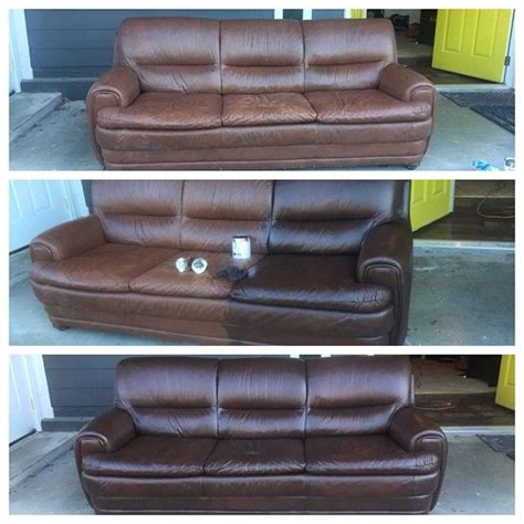 free leather couch paint on leather sofa 25 unique leather restoration ideas