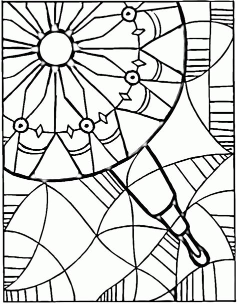 printable kaleidoscope coloring pages for adults kaleidoscope coloring pages coloring home