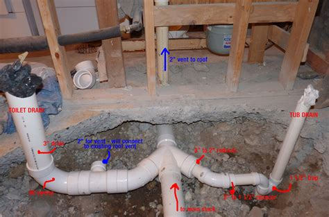 How To Plumb Toilet by Replacing Basement Bathroom Plumbing Plumbing Diy Home