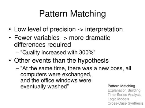 pattern matching with dependent types ppt analyzing case study evidence powerpoint