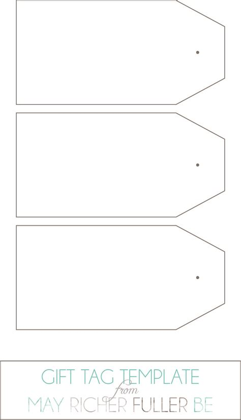 free tag templates printable gift tags templates word