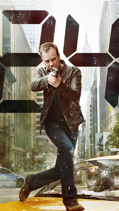 jack bauer kiefer sutherland  tv series wallpaper
