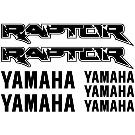 Yamaha Raptor 660 Aufkleber by Yamaha Raptor 660 660r 700 Custom Graphics Decal Sticker