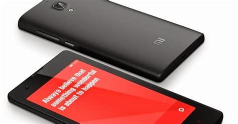 Hp Xiaomi Lengkap Spesifikasi spesifikasi lengkap dan harga hp xiaomi redmi smartphone murah