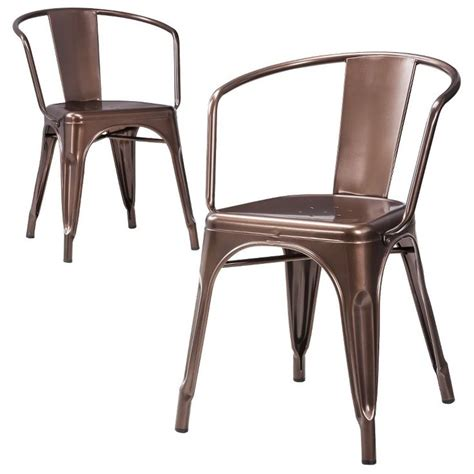 Metal Dining Chairs Target Carlisle Dining Chair Set Of 2 99 For Two At Target Copper And Industrial Metal Gimme