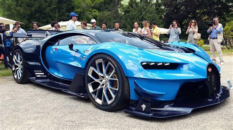 Aston Martin Vs Bugatti Bugatti Vision Gt Vs Aston Martin Vanquish Zagato
