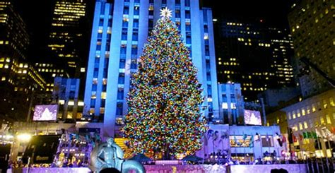 best tree lighting ceremonies in new york city