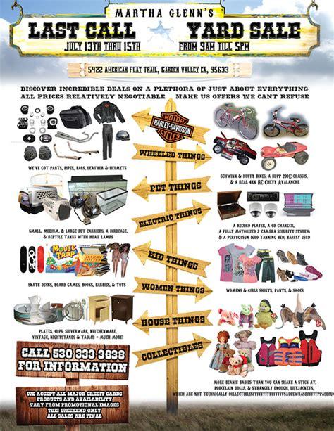 garage sale flyer template word 14 best yard sale flyer templates psd designs free