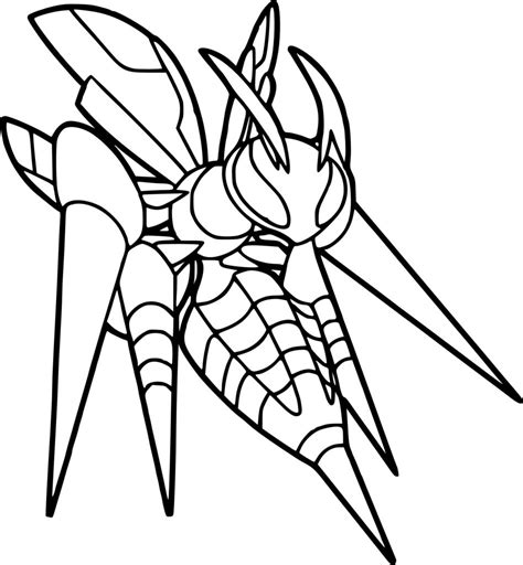 pokemon coloring pages chandelure pokemon coloring pages beedrill t8ls com