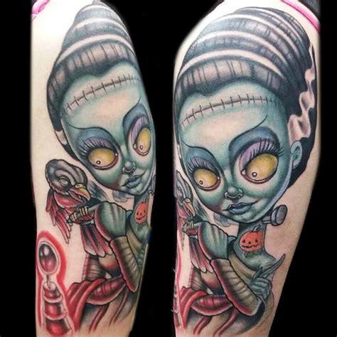 bride of frankenstein tattoo water tattoos