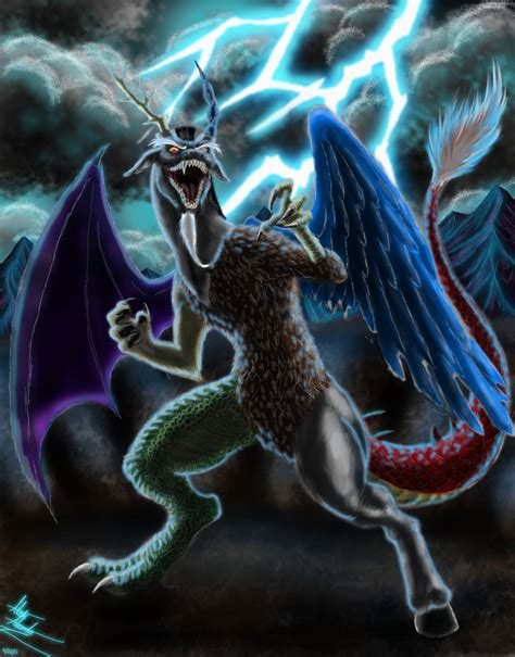 discord zalgo nightmare moon vs discord vs chrysalis vs sombra show