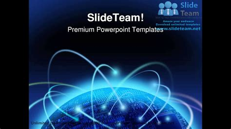 Global Information Technology Powerpoint Templates Themes And Backgrounds Ppt Layouts Youtube Information Technology Ppt Templates