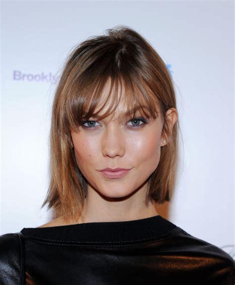 karlie kloss short hair 10 celebrities straight bobs for girls to try pretty