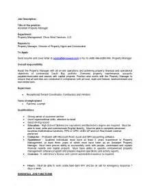 Introduction Letter Property Manager Property Management Cover Letter Docoments Ojazlink
