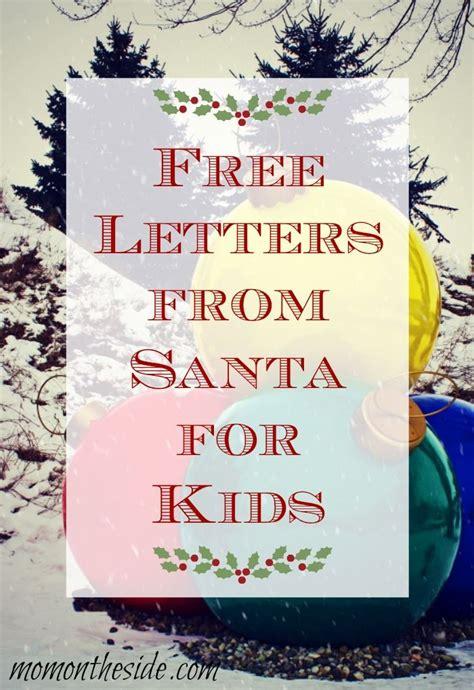 letters  santa postmarked   north pole  letters  santa santa