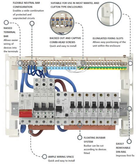 bg garage consumer unit wiring diagram diy light switch