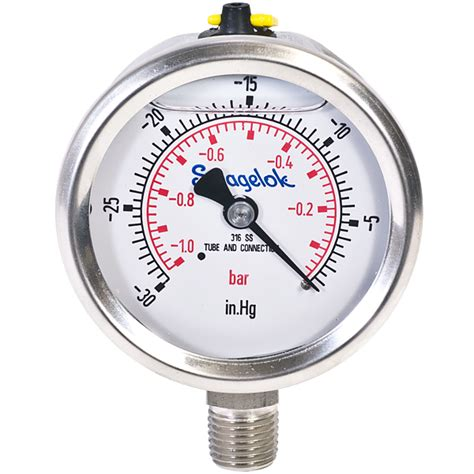 Seal Onda 1 2 Inch 10 Meter sdeluxe bourdon needle vacuum pressure with 1 4