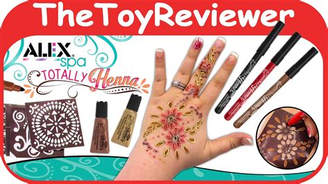 easy tattoo pflege kit alex toys spa fun totally henna tattoo kit diy kids easy