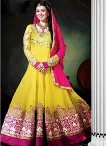 Mehndi dresses in pakistan and india mehndi occasional dresses 2014