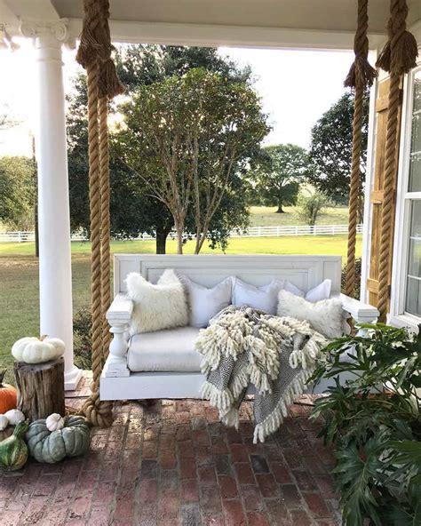 rustic farmhouse porch decor