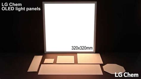 lg oled light panel price lg display oled light panels youtube