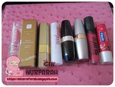Lipgloss Paling Murah apa produk kecantikan yang korang gunakan cik nurfarah