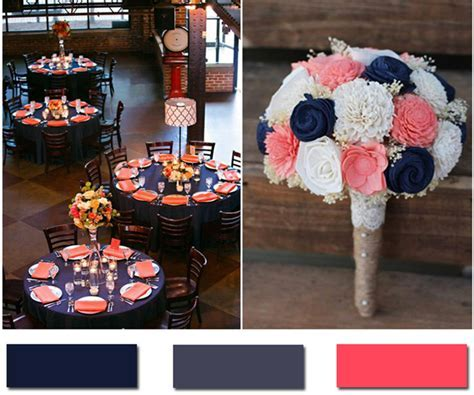 Nobleness and Eternity: Stunning Navy Blue Wedding Color Ideas