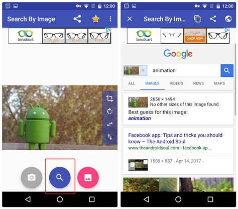 Image Search Phone How To Do Image Search On Android The Android Soul