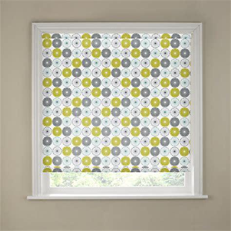 green patterned roller blind lime green patterned roller blinds images