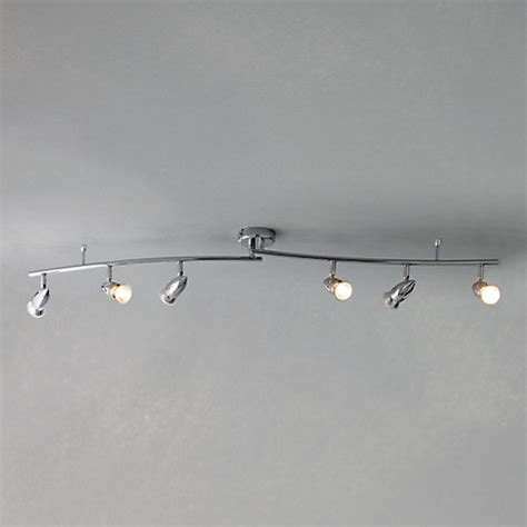Spotlight Ceiling Bar by Buy Lewis Soyuz 6 Spotlight Ceiling Bar Polished