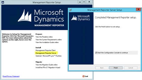 management reporter sle reports yet another dynamics ax installing management