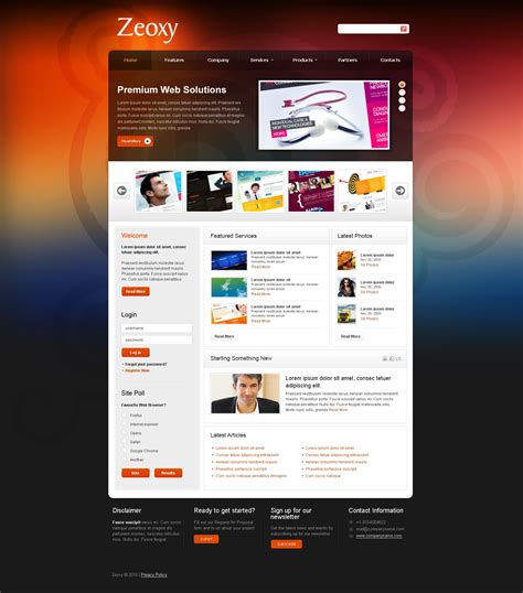 web design joomla template 30965